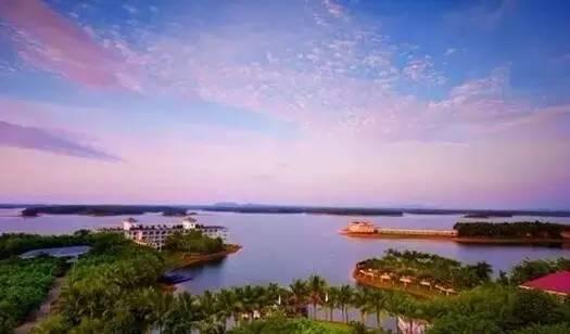 南丽湖,文笔峰,久温塘火山冷泉,海南热带飞禽世界,定安古城.